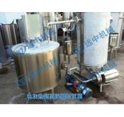 温州龙湾3T/H电加热超高温瞬时灭菌机
