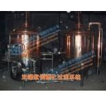 紫铜糖化系统,糖化煮沸锅,漩涡沉淀槽,过滤槽