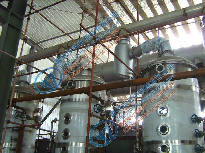 双效外循环真空浓缩器 温州真空减压浓缩器 远中机械